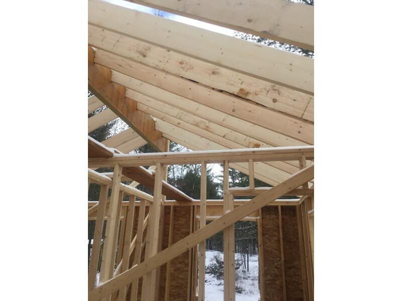 Design & Build Project: The Buckhorn Bunkie - Construction