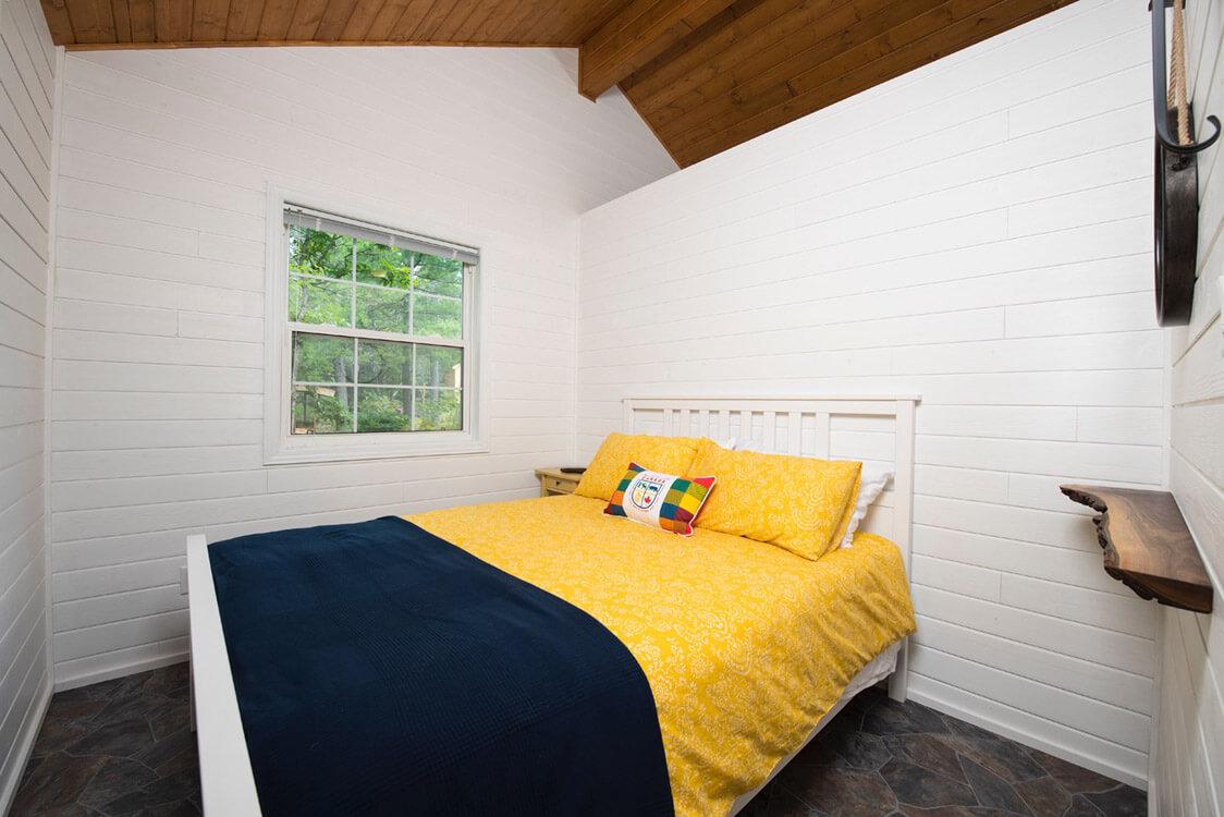 Design & Build Project: The Buckhorn Bunkie - Bedroom