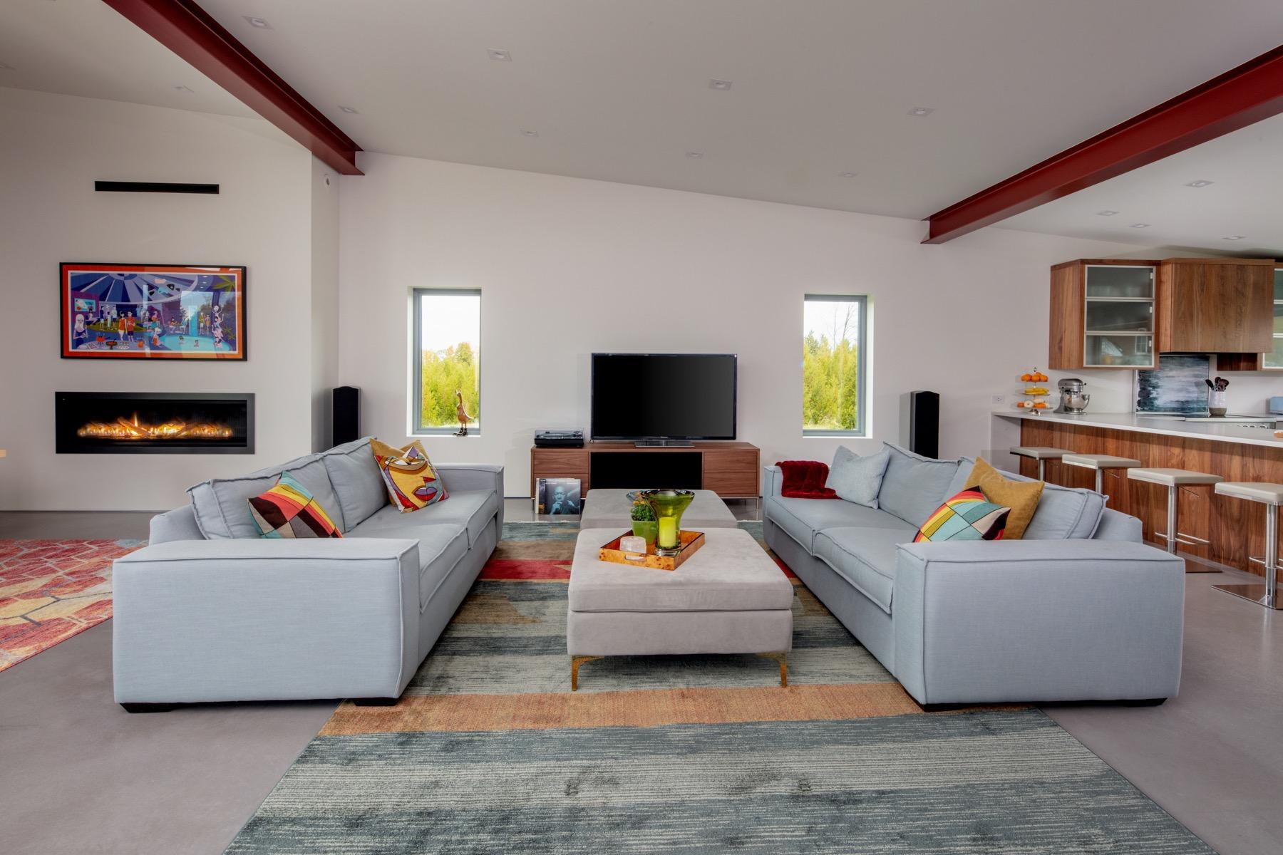 Net Zero Ready Home Living Room