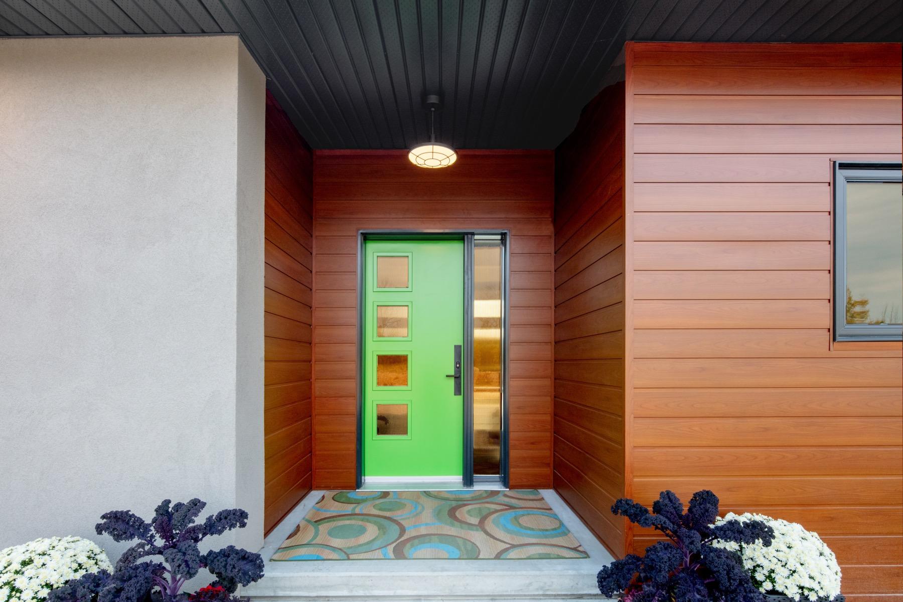 Net Zero Ready Home Front Door