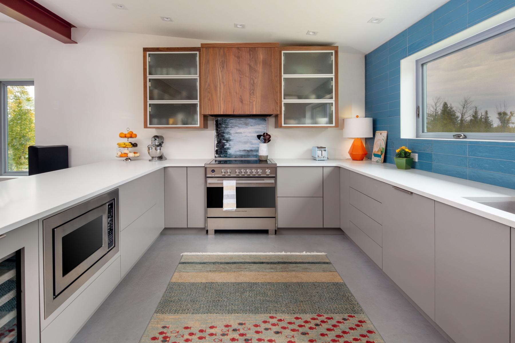 Net Zero Ready Home Kitchen