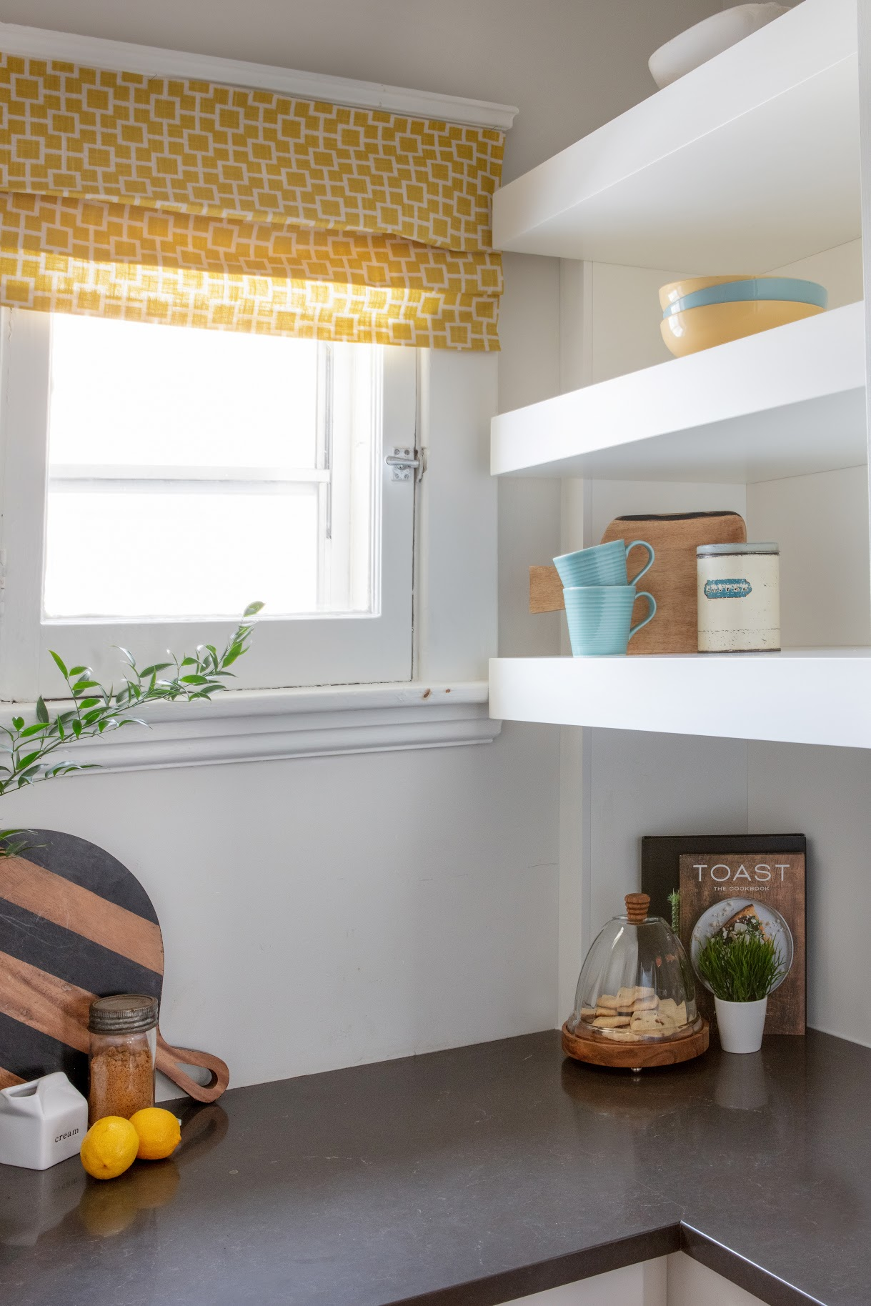 After: Built-In Kitchen Shelves