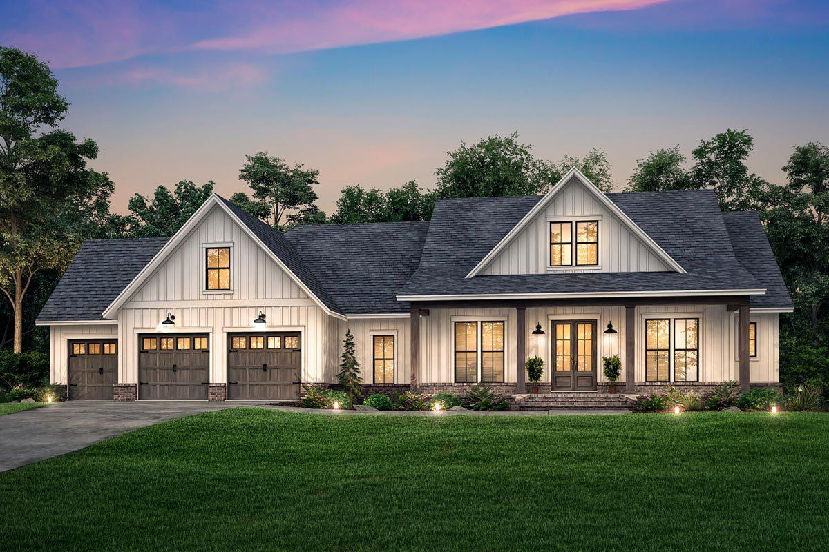 Rendering of Custom Home Plan