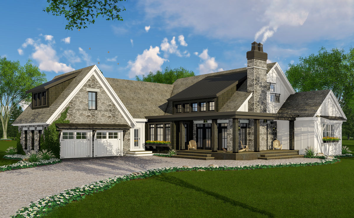 Cottage Home Plan