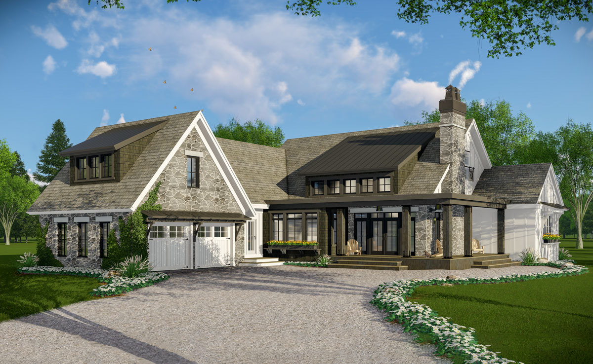 Rendering of cottage home