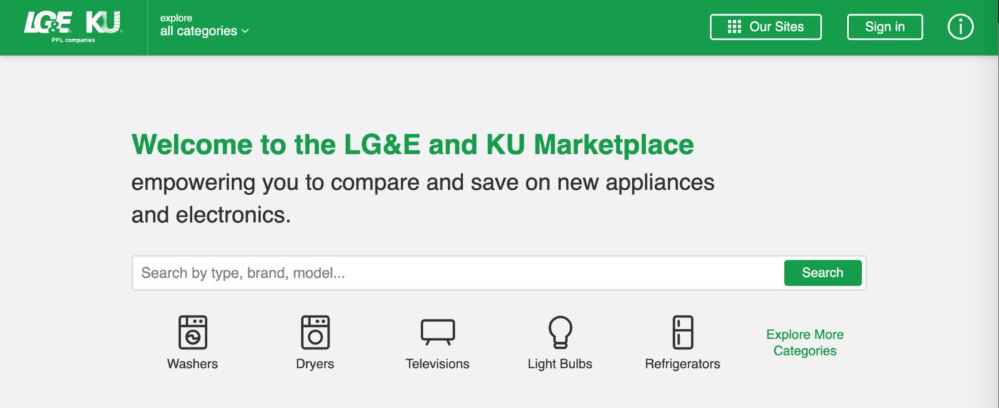 Marketplace home screenshot