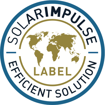 "Awarded the ""Solar Impulse Efficient Solution"" Label"