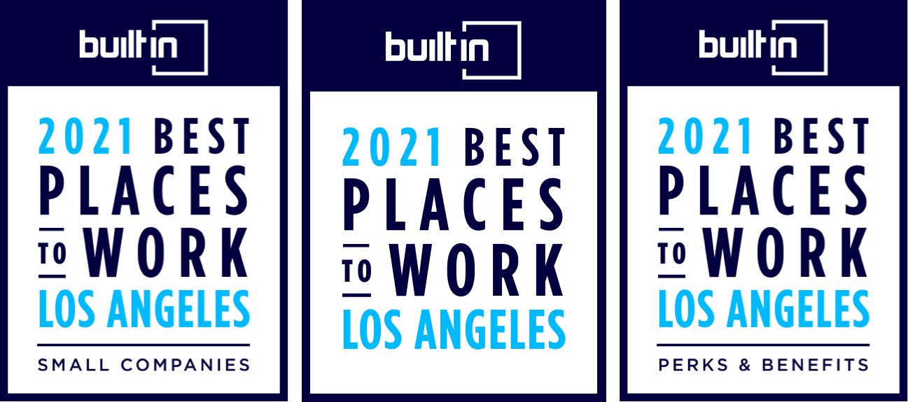 2021 Best Places to Work and Best Benefits awards