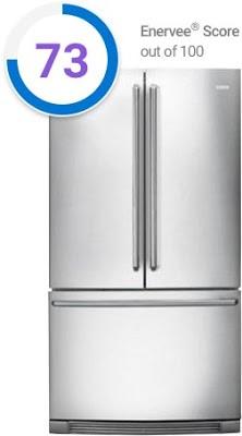 Refrigerator with Enervee Score