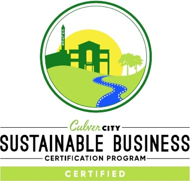 Certified Sustainable Business