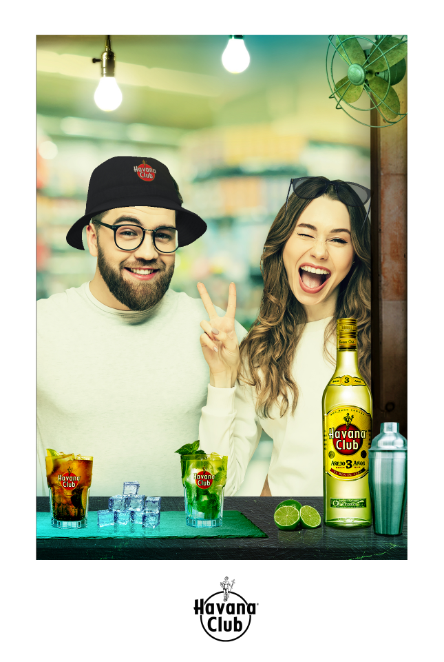 Havanna Club  AR Promotion by Sensape  at the POS