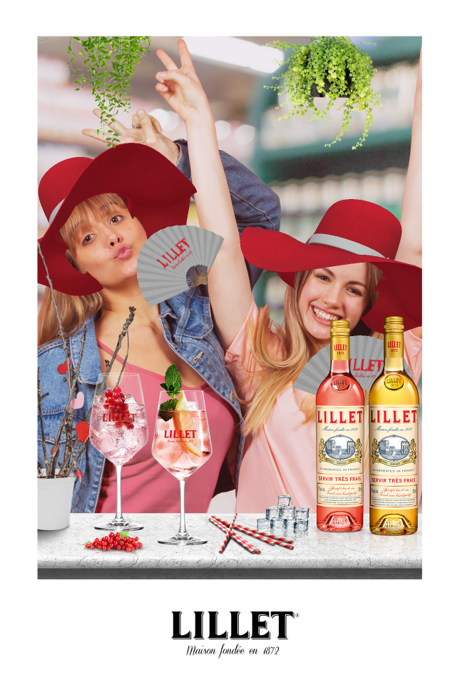 Lillet AR Promotion by Sensape  at the POS
