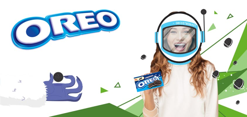 Interactive promotion for Oreo at the point of sale