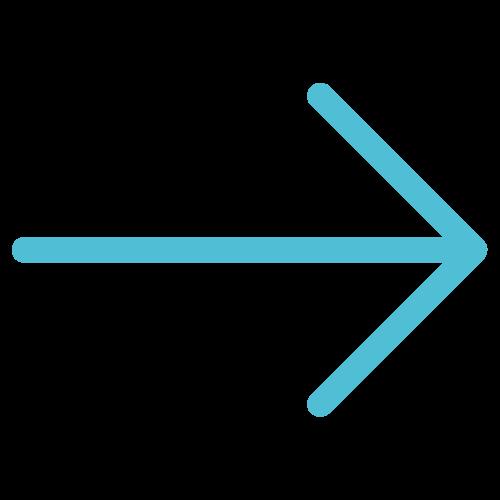 Blauer Pfeil zeigt nach rechts