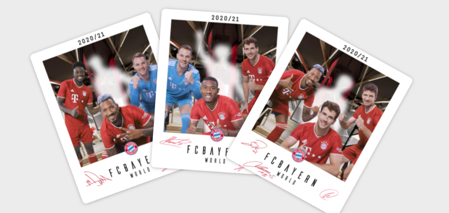 Virtual Photo with the FC Bayern München stars like Manuel Neuer, Jerome Boateng and Thomas Müller at the FC Bayern world in Munich.