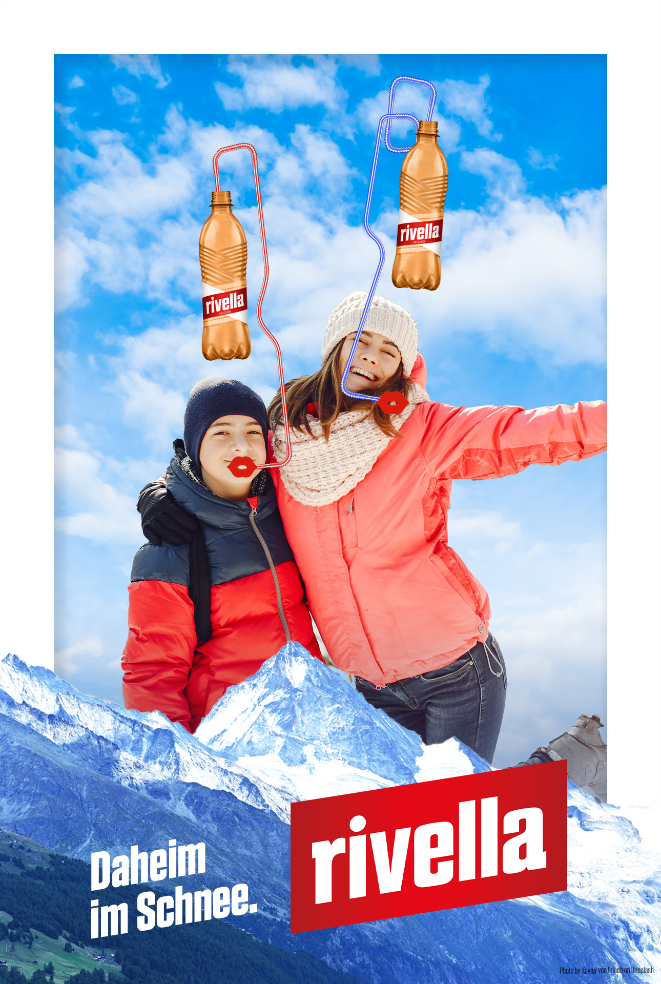 Rivella AR promotion. Increasing sales by automatic product sampling by an AR game combined with a vending machine.
