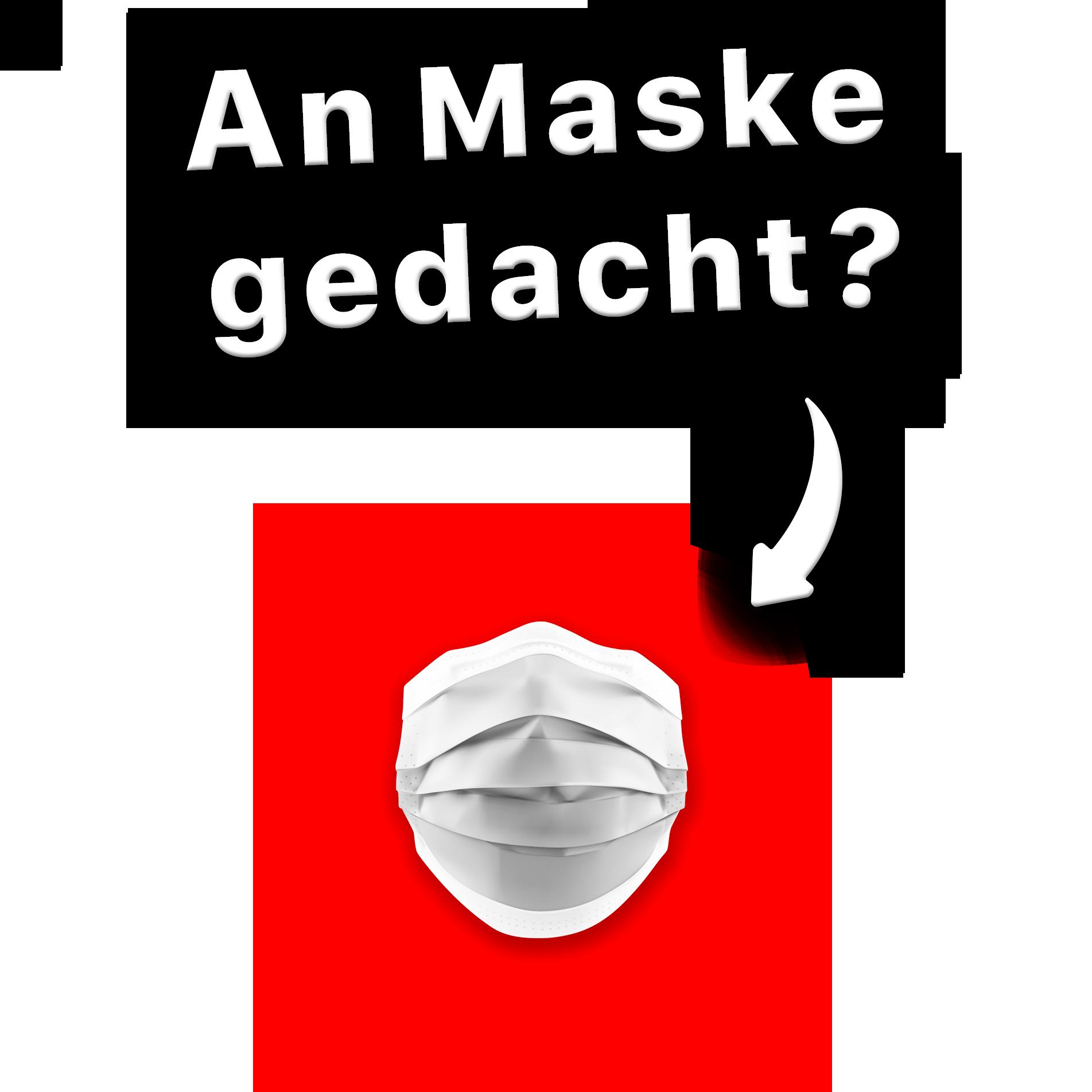 Automatische Maskenerkennung am Eingang.