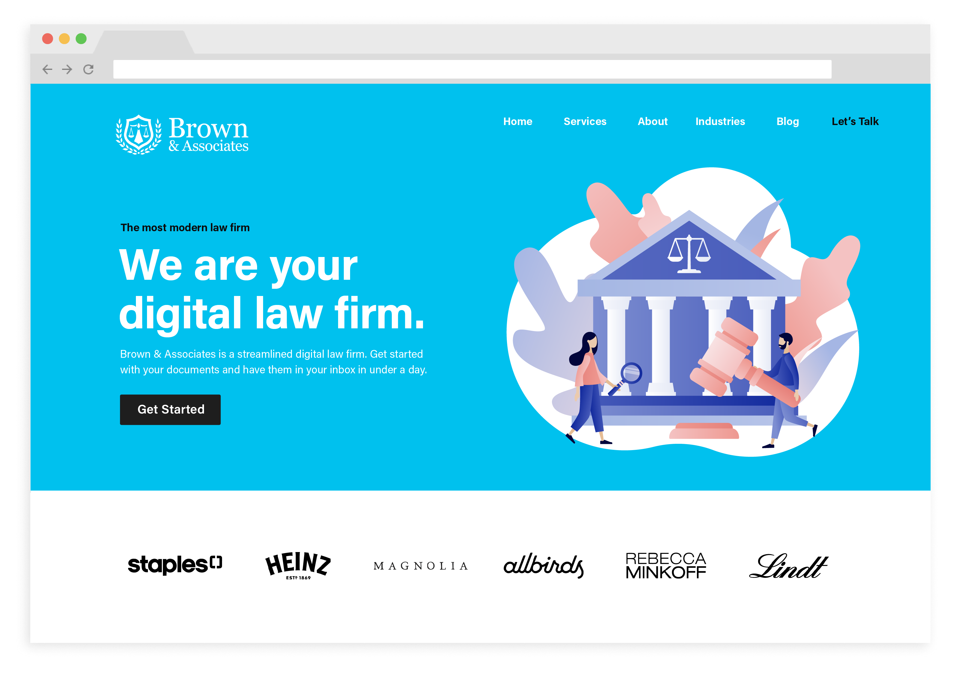 Law firms using Rally legal software to improve their websites