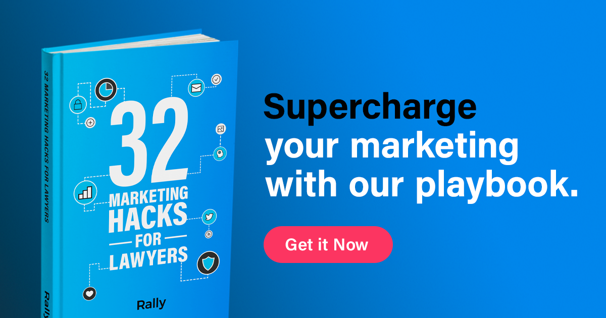 Rally's marketing hacks for lawyers e-book