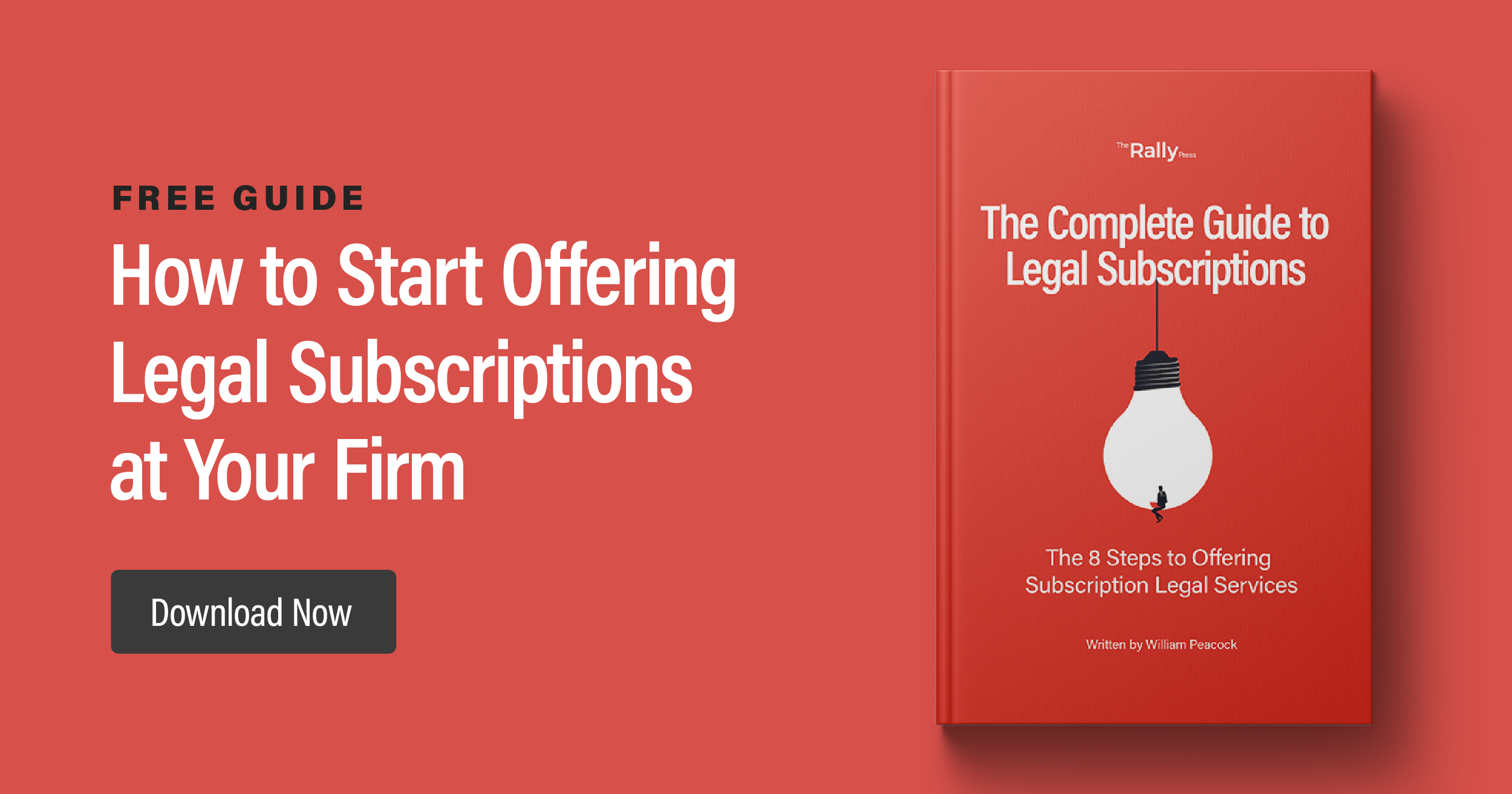 Rally's ebook for lawyers who want to offer subscription legal services at their firm