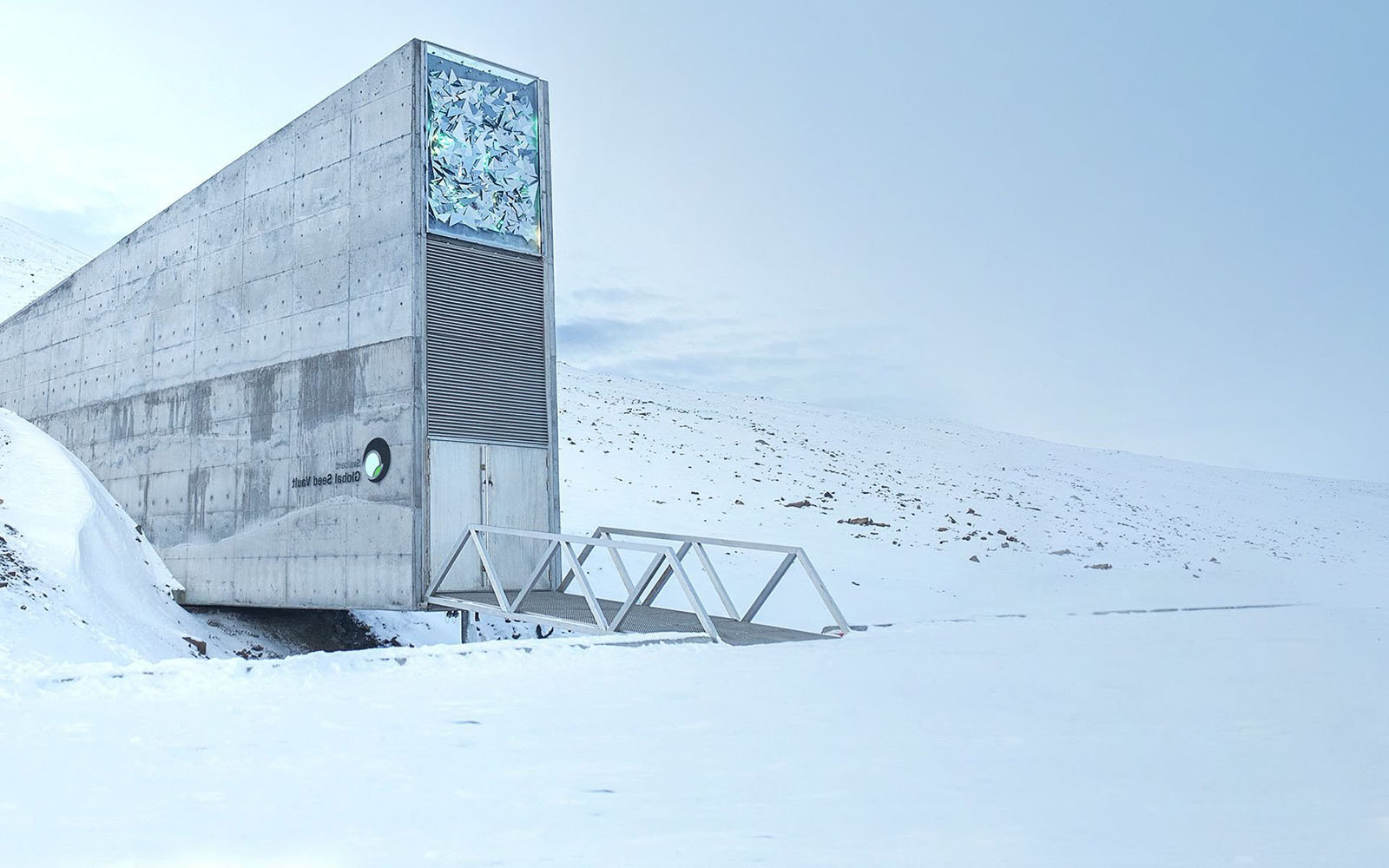 Image of the Svalbard global seed vault