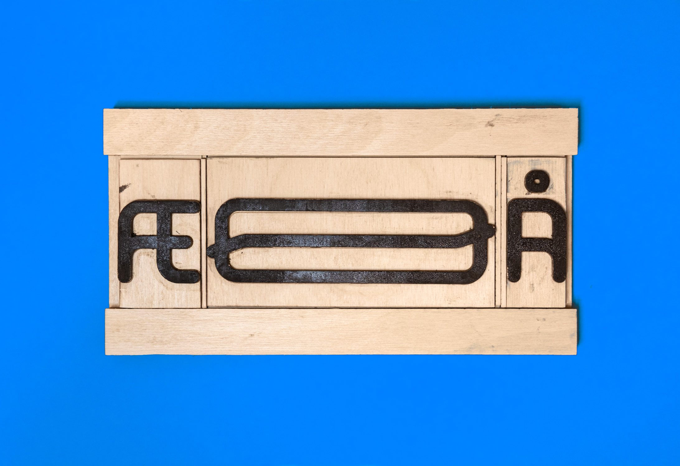 woodtype from the typeface
