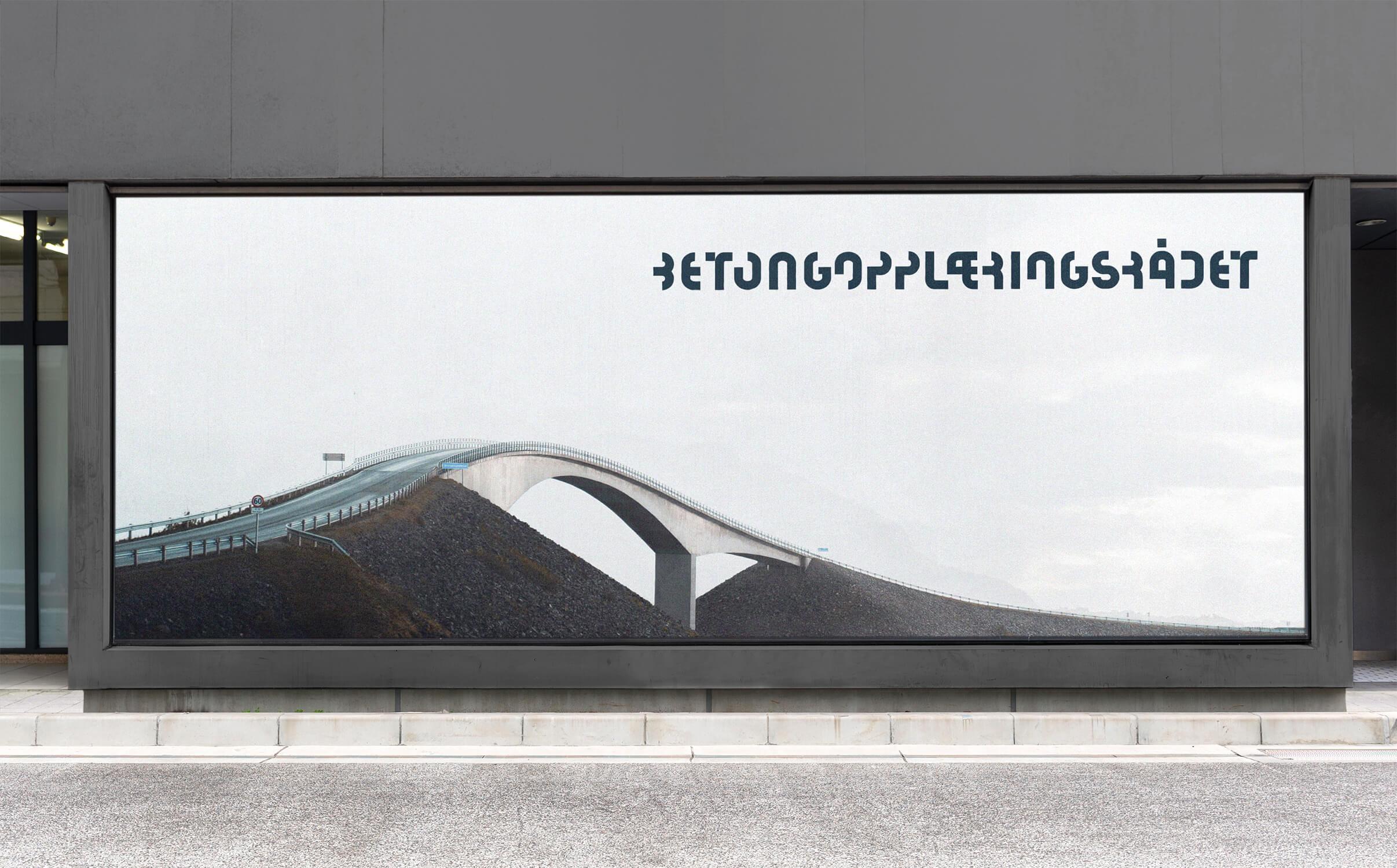 BOR written in decorative lettering