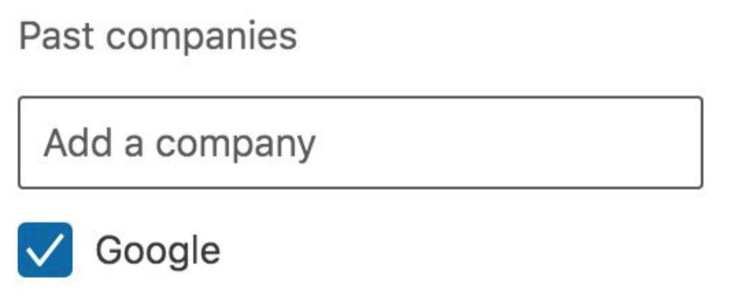 Past Companies