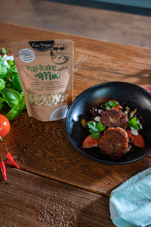 Veggi-Bratling Mix Gericht
