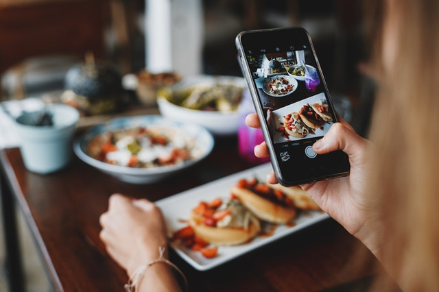 Blogging provides social media content