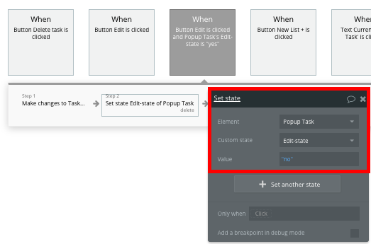 Task Popup Workflow Tutorial for Bubble No Code Trello Clone