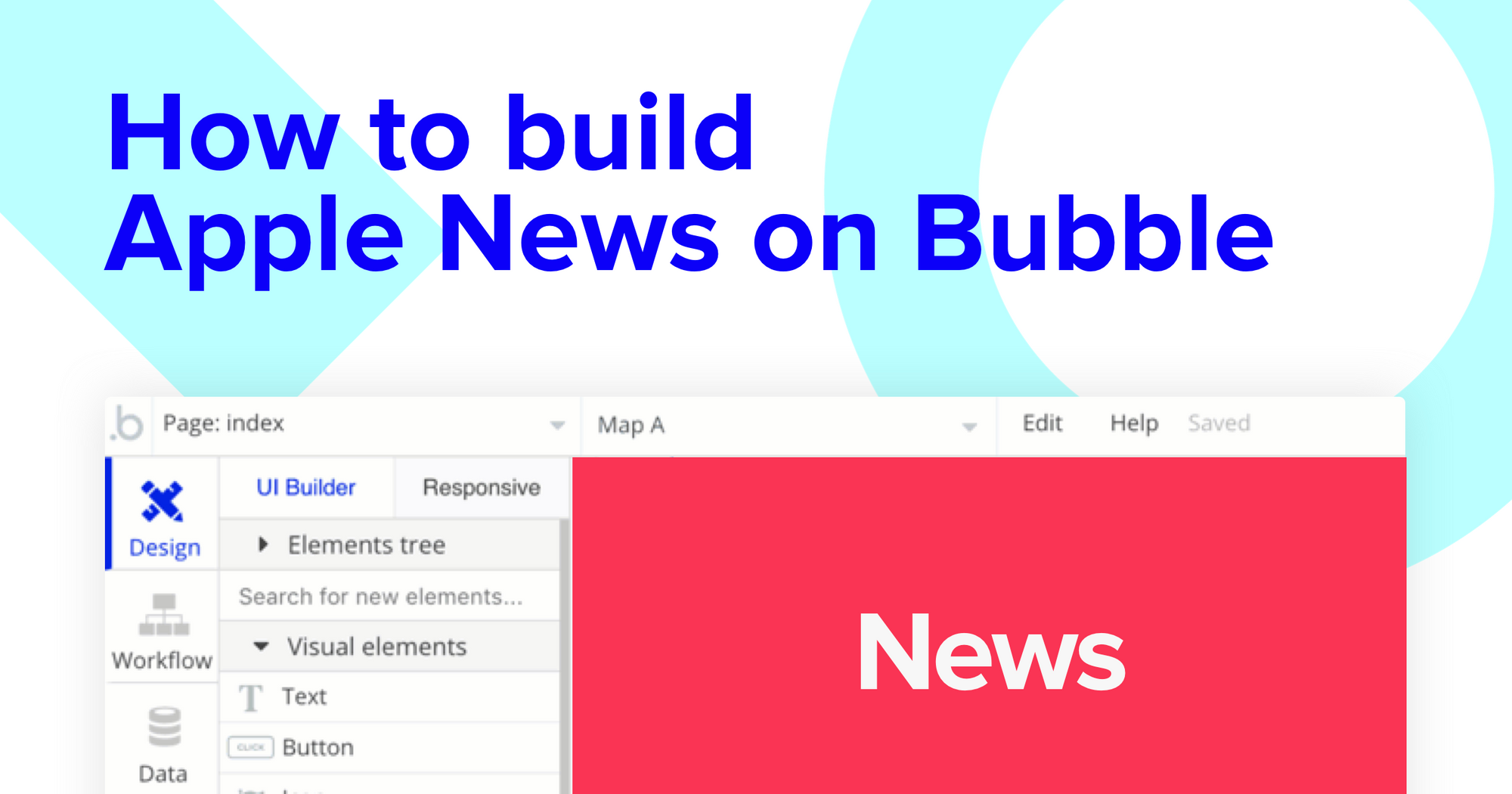 How To Build A News App With No Code