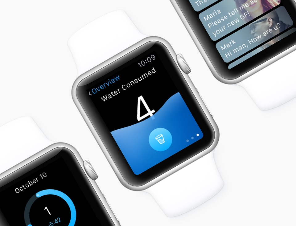 Apple Watch UI Kit 2.0