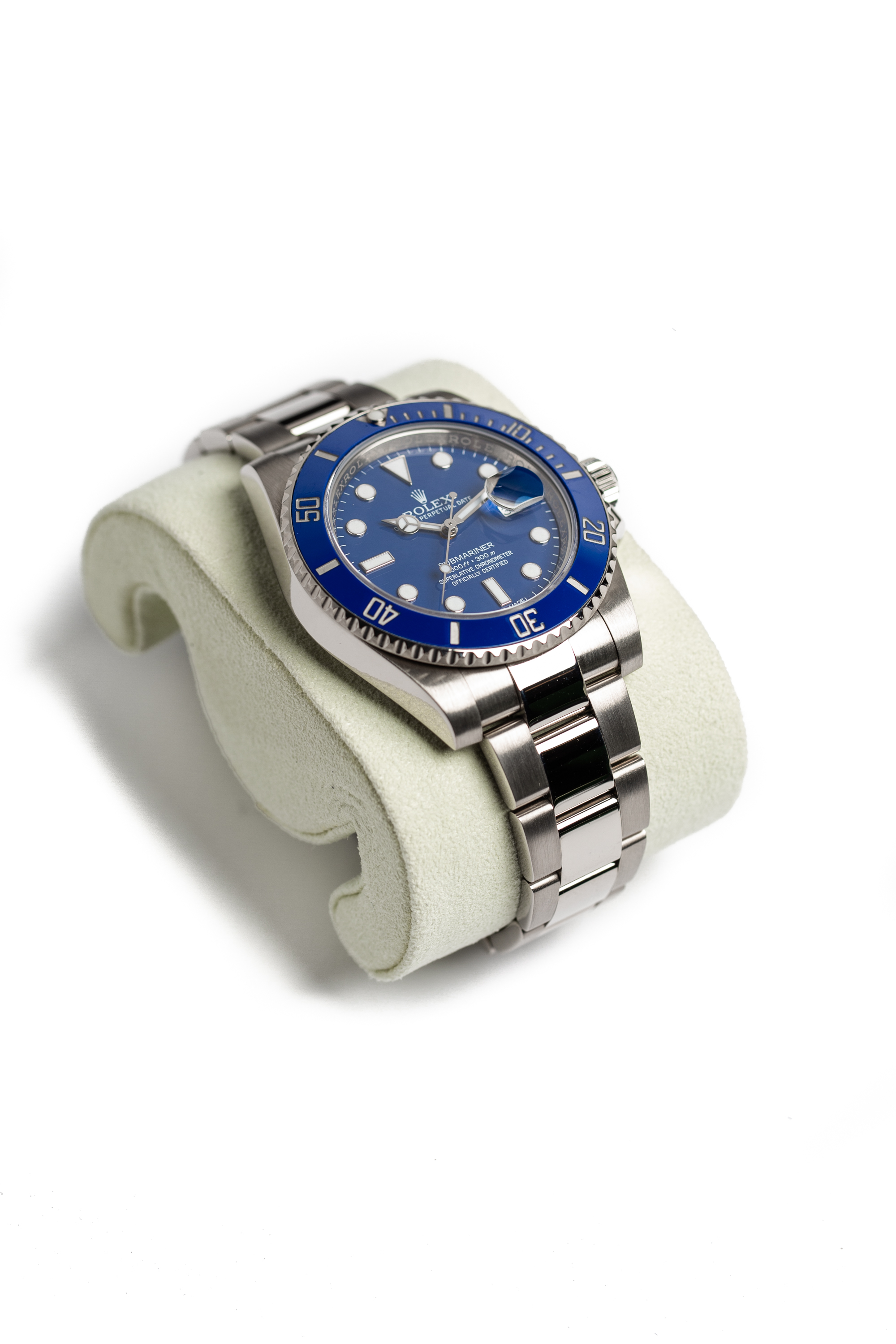 "Rolex Submariner ""Smurf"""