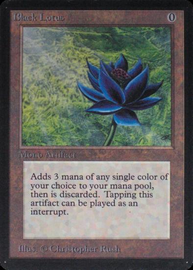 Alpha Black Lotus, Magic: The Gathering