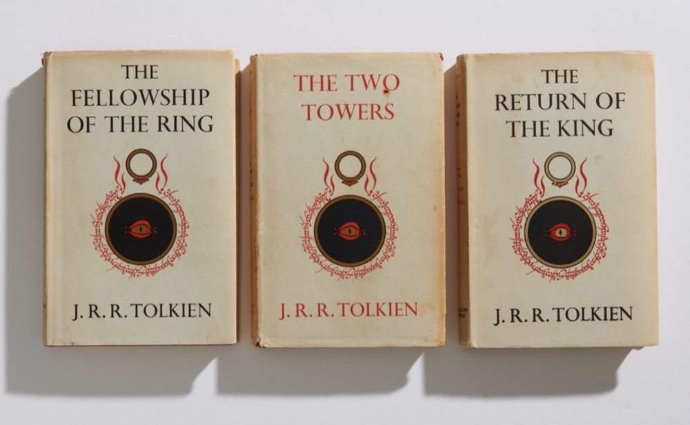 The Lord of the Rings Trilogy, 1st Edition, J.R.R. Tolkien