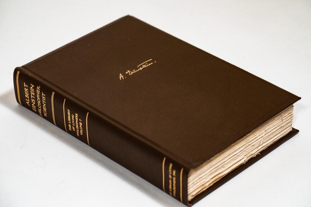 Philosopher-Scientist, Signed 1st Edition, Albert Einstein