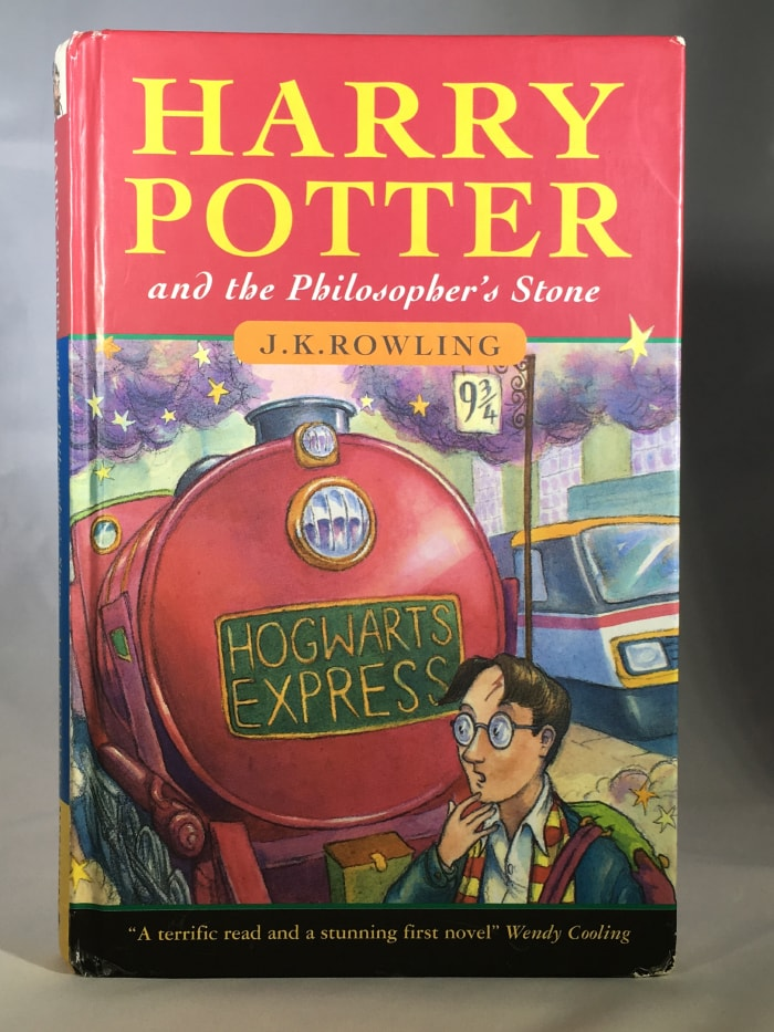Harry Potter and the Philopher's Stone, 1st Edition, JK Rowling