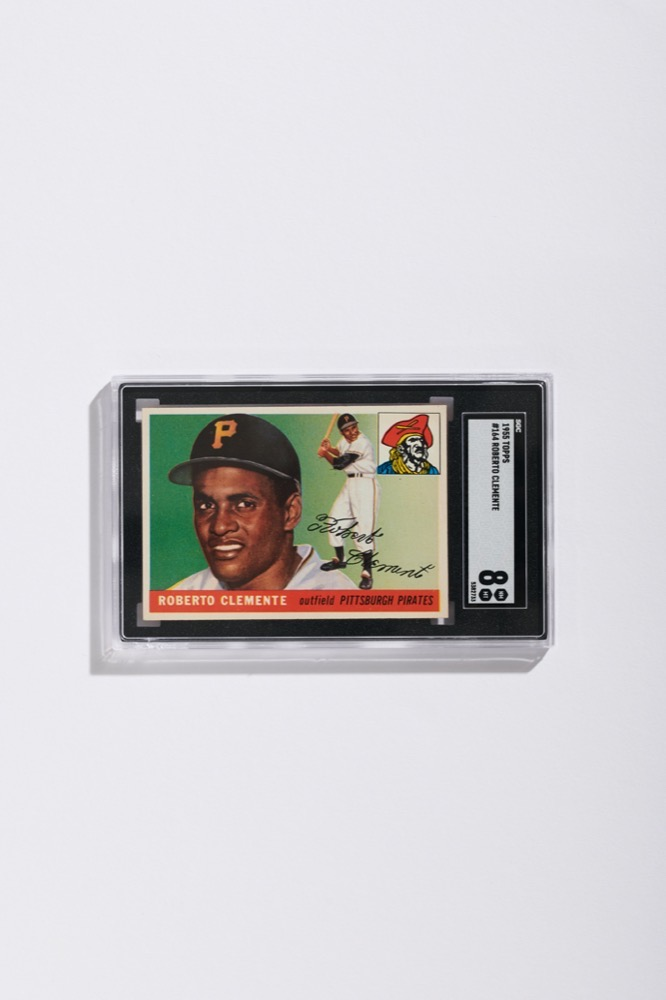 Topps Roberto Clemente Rookie Card (SGC 8)