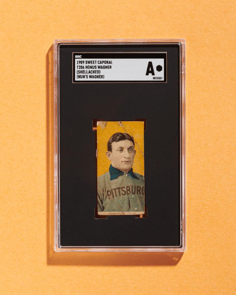 Honus Wagner T206 Card (SGC A)