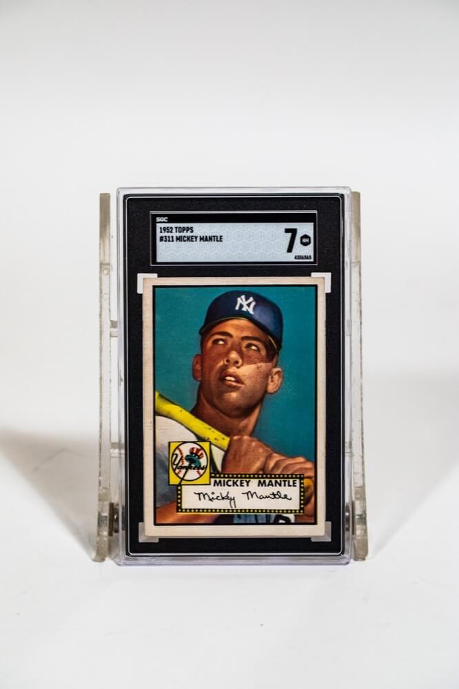 Topps #311 Mickey Mantle Card (SCG 7)
