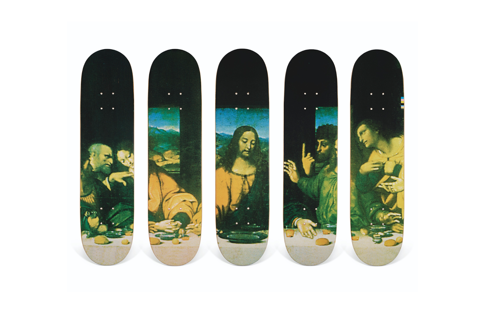 """Supreme Skateboards II """"The Last Supper"""" and """"Spots"""""""