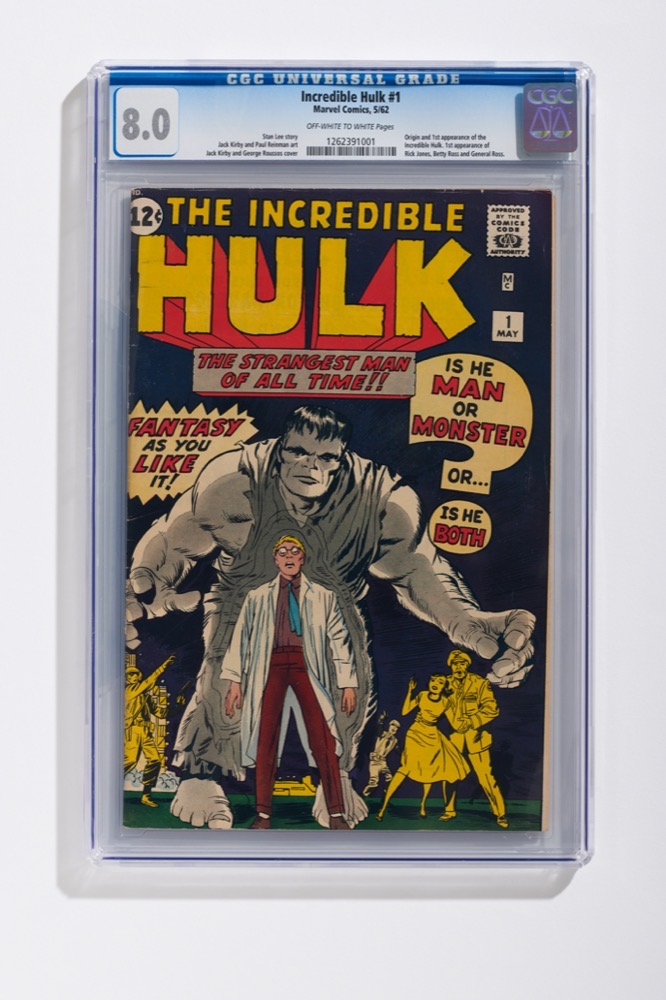 Marvel Incredible Hulk #1 (CGC 8.0)