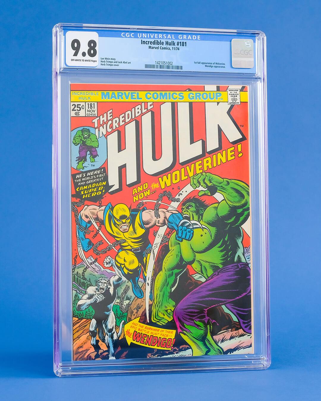 The Incredible Hulk #181 (CGC 9.8)
