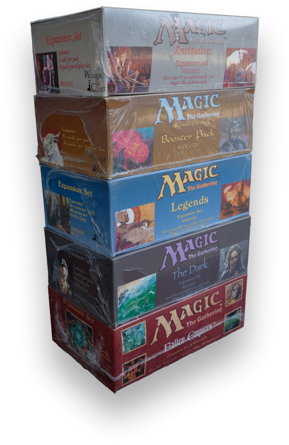 Booster Boxes 5-count, Magic: The Gathering