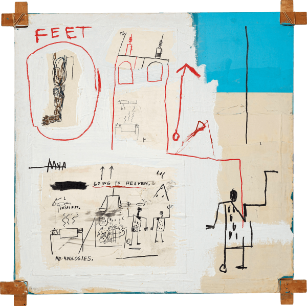 The Mosque by Jean-Michel Basquiat
