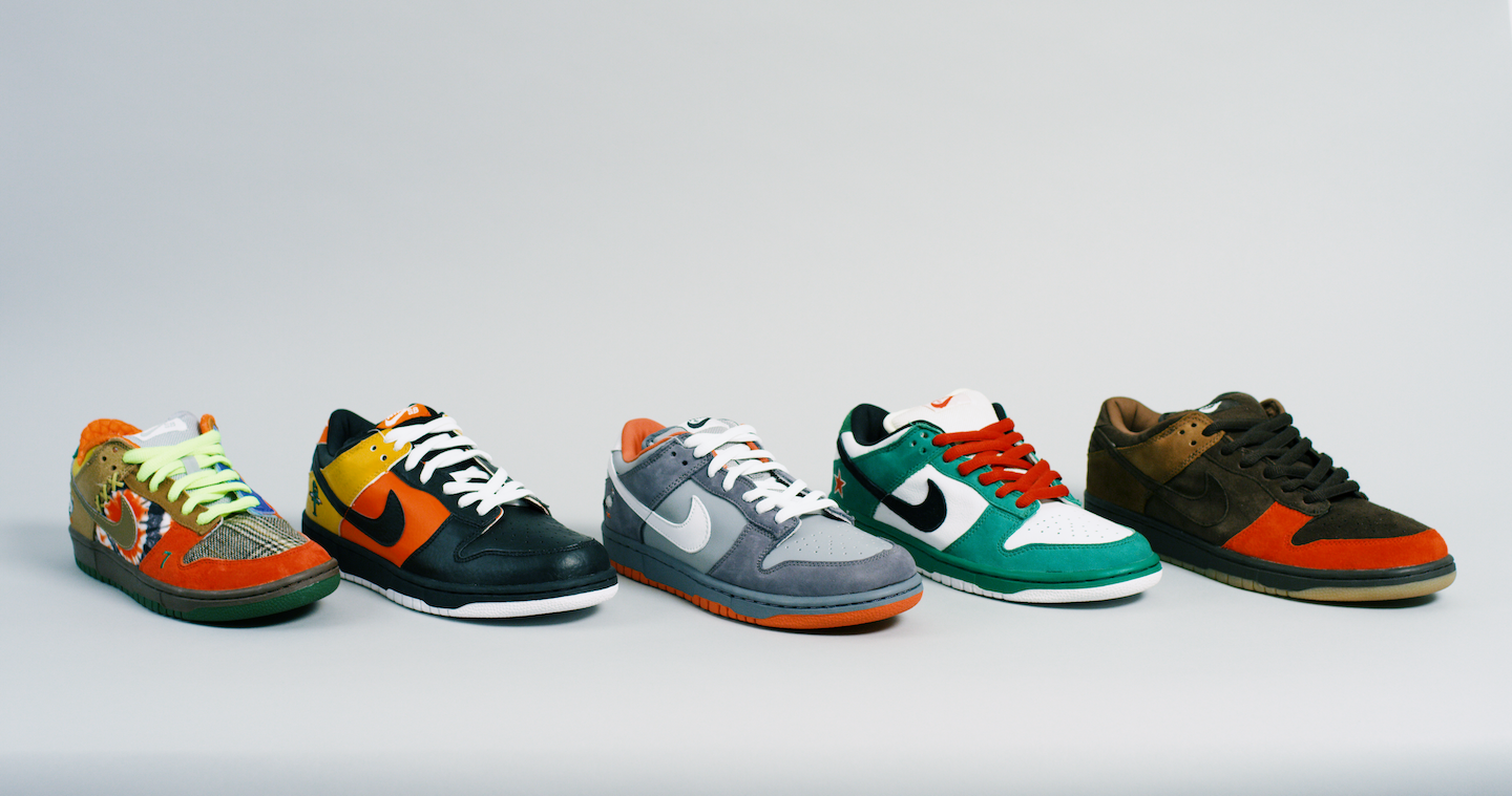 Nike SB Dunks Collection by Jeff Staple