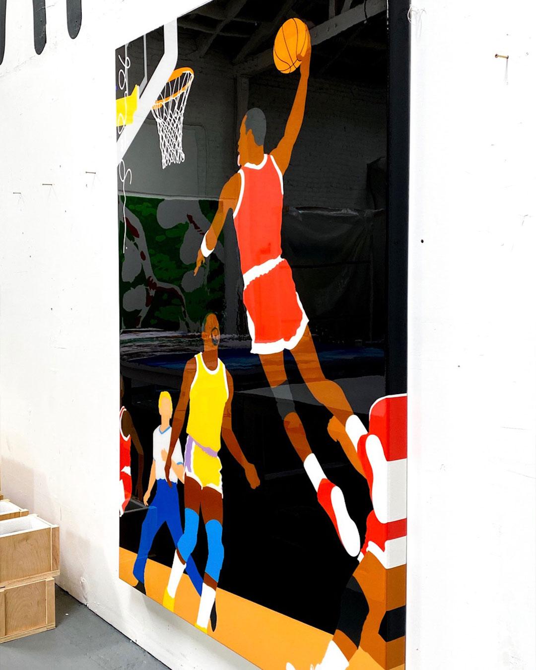 Basketball by Shelby & Sandy