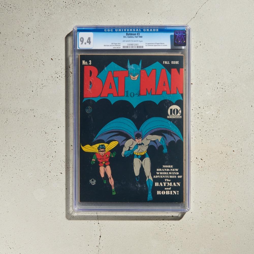 DC Comics Batman #3 (CGC 9.4)