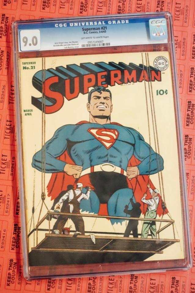 DC Comics Superman #21 (CGC 9.0)